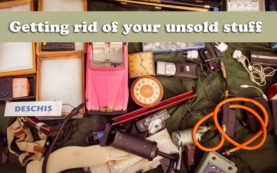 Getting rid of your unsold stuff